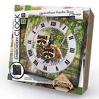 Набор для творчества 01-01 Часы Embroidery clock