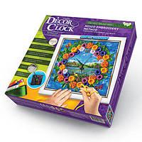 Набор для творчества DС-01-02 D'ecor clock Герберы (вышивка) Danko Toys