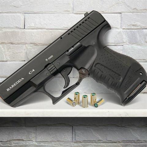 Стартовый  пистолет Baredda Z88 Black