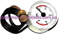 Манометр 0–4 Bаr, диаметр43 мм (без фир.уп, EU) Domicompact, Domiproject, Domitech, арт.39818210, к.с.0315