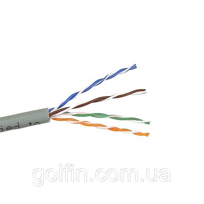 Вита пара DCG UTP cat 5E 4PR CCA PVC внутрішній 100м