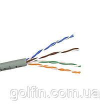 Витая пара DCG UTP cat 5E 4PR CCA PVC 100м внутрений