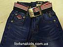Джинсовые брюки для мальчиков F&D 74-104 р.р., фото 3