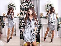 Женское платье рубашка БархатLe28