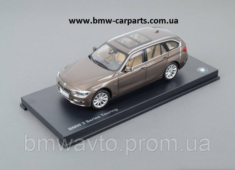 Модель автомобиля BMW 3 Series Touring (F31), Miniature Bronze, Scale 1:18