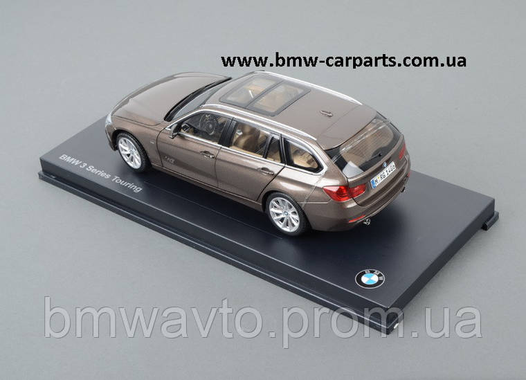 Модель автомобиля BMW 3 Series Touring (F31), Miniature Bronze, Scale 1:18, фото 2
