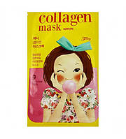 Корейская тканевая маска для лица с коллагеном Fascy