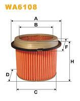 Фильтр воздушный MITSUBISHI COLT AM433/WA6108 (пр-во WIX-Filtron) WA6108