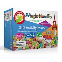 Конструктор Magic Nuudles (220 деталей) 5822, конструктор мягкий для детей