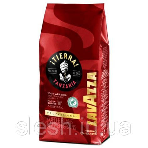 Кофе в зернах  LAVAZZA TIERRA TANZANIA 1кг, фото 2