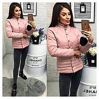 Женская весенняя куртка №01563 Новинка 2018