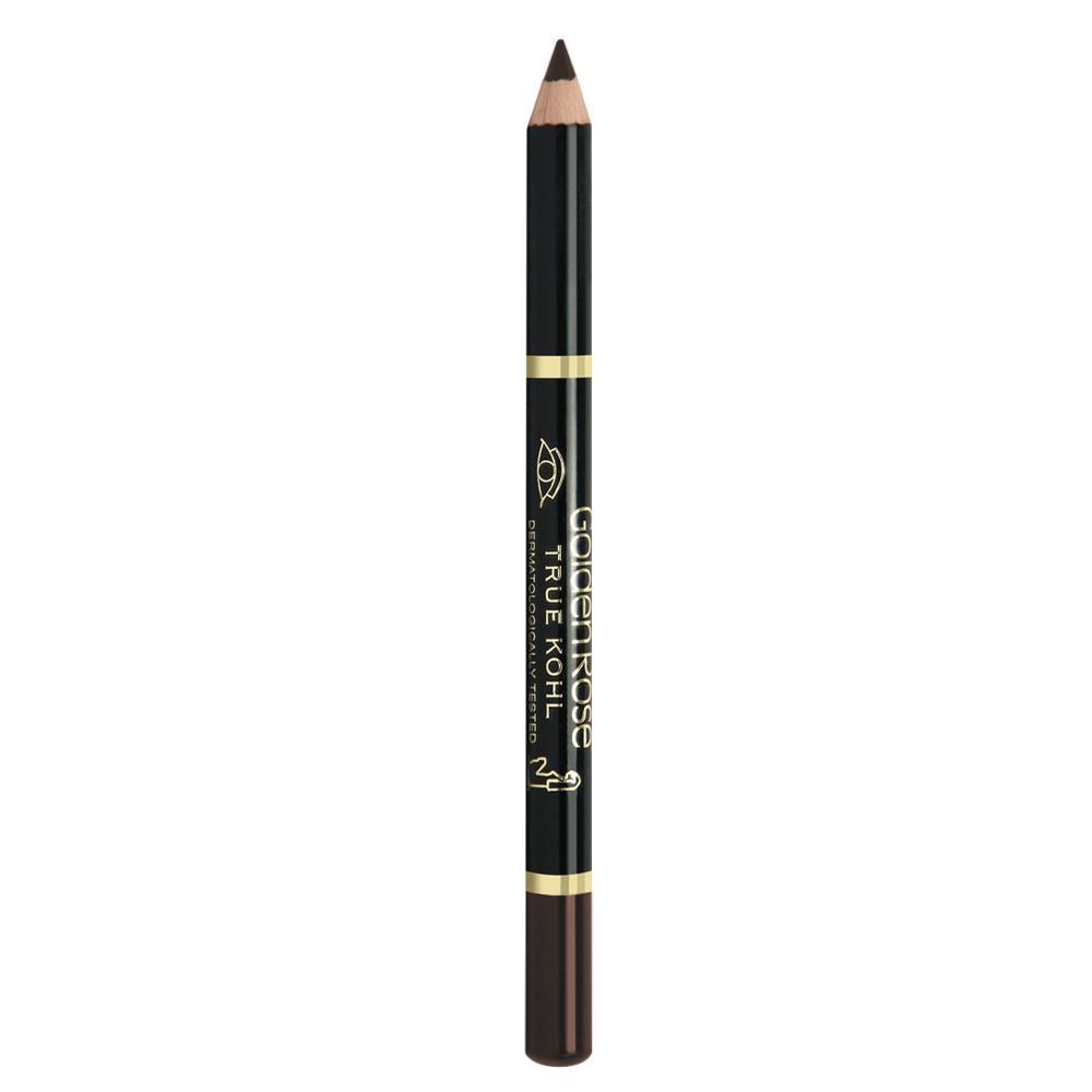 Карандаш для глаз Golden Rose True Kohl Eyeliner (коричневый)
