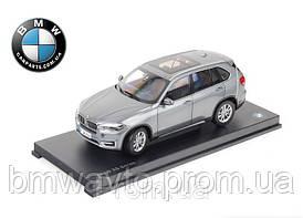 Модель автомобиля BMW X5 (F15), 1:18 scale, Space Grey