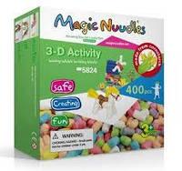 Конструктор Magic Nuudles (400 деталей) 5824, мягкий конструктор для детей