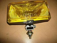 Фара противотуманная желтая 12В (универсальная прямоугольная) (производство ОАО Автосвет), ABHZX