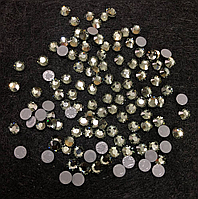 Стразы Swarovski (Сваровски) Black Diamond (215) SS-16 для украшения одежды, карнавальных костюмов, сценически