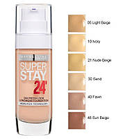 Тональний крем Maybelline Superstay 24Hr Foundation 30 ml (10 Ivory)