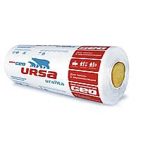 Вата минеральная URSA GEO (Урса) Лайт 50/100мм (8,4/16,8м2)