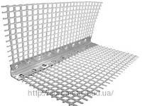 Угол алюминиевый перфорированный с сеткой 2,5 м (Контрашульц)