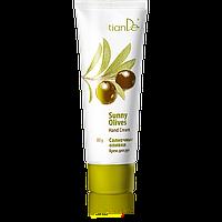 Крем для рук «Солнечные оливки» питательный увлажняющий TianDe (ТианДе) 40109, 80г