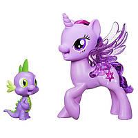 Игровой набор Сияние Поющие Twilight Sparkle и Spike, «My Little Pony» (C0718), фото 1