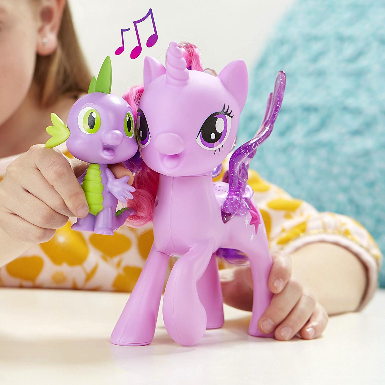 Игровой набор Сияние Поющие Twilight Sparkle и Spike, «My ...