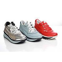 Кожаные женские кроссовки (весна-осень) 37