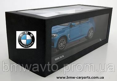 Модель BMW X6M (F86), Scale 1:18, Long Beach Blue Metallic, фото 2