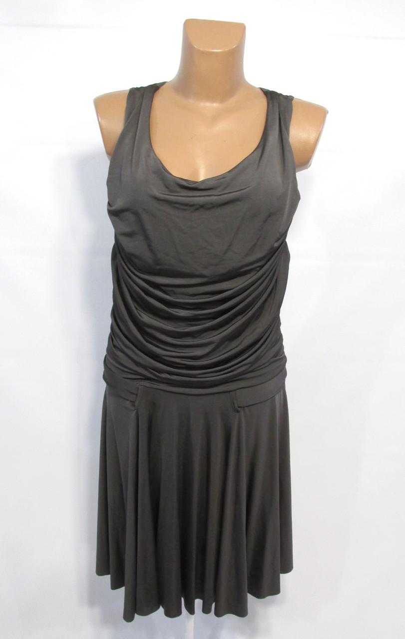 Платье Imperial, М, темно серое, стрейч, Отл сост!
