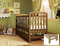 Деревянная кроватка Teddy УМК