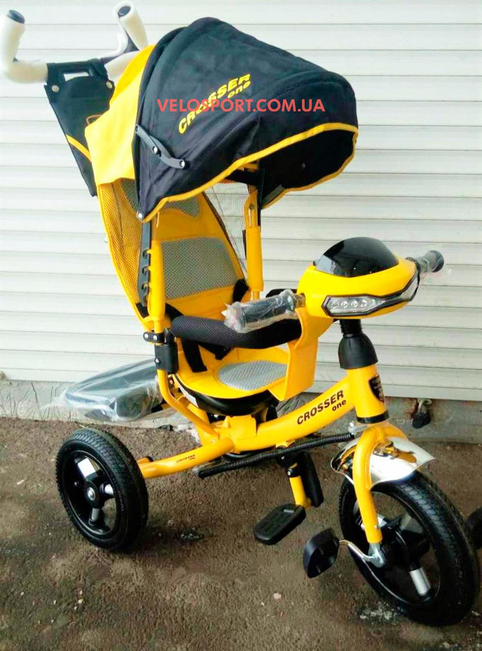 Детский трехколесный велосипед Crosser One
