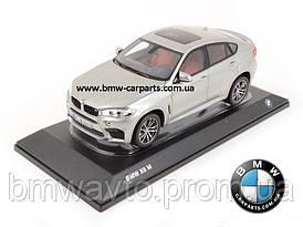 Модель BMW X6M (F86), Scale 1:18, Donington Grey
