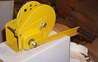 Лебедка ручная тяговая c тормозным фиксатором 800кг