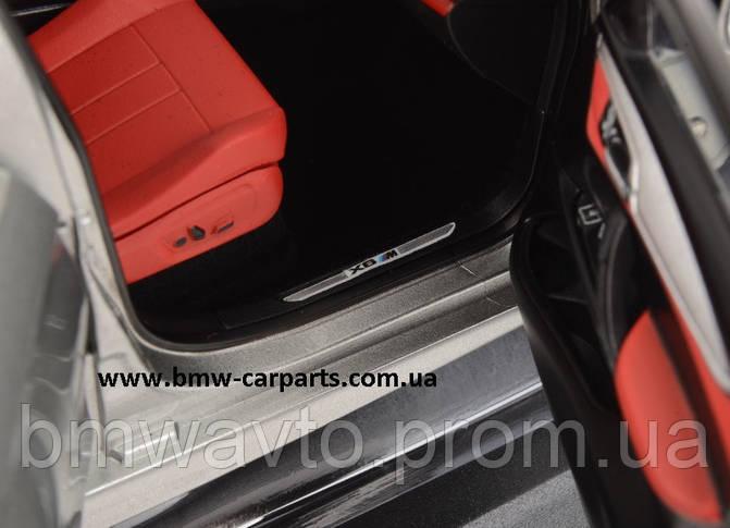 Модель BMW X6M (F86), Scale 1:18, Donington Grey, фото 3