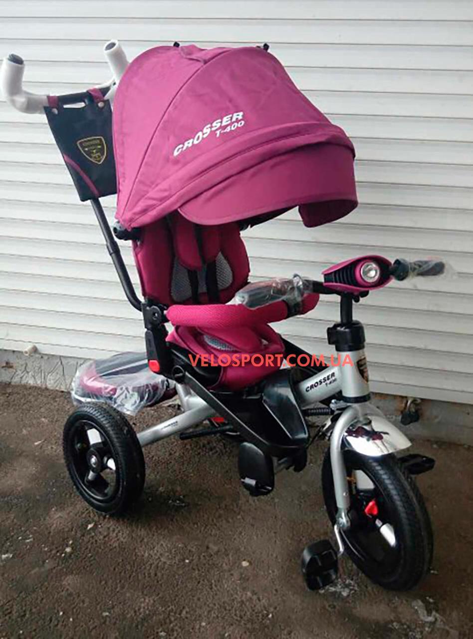 Детский трехколесный велосипед Crosser T 400 AIR