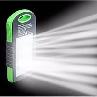 Павер Банк Влагостойкий Pawer Bank UKC 28 000 mAh с солнечной зарядкой и фонариком