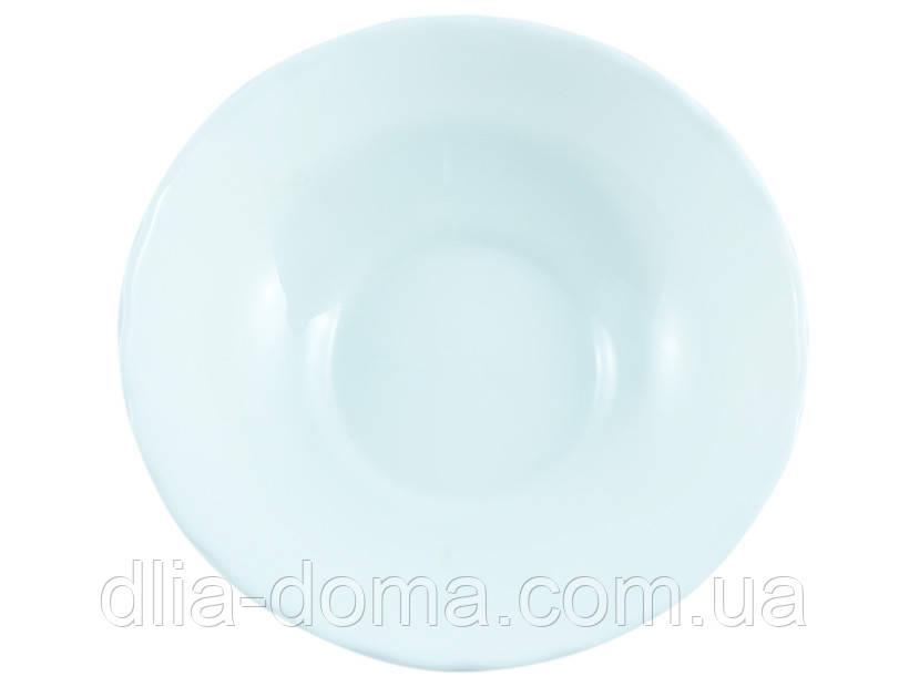 Білий салатник №7