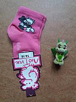Носки детские тм Лютик  мишки малиновые