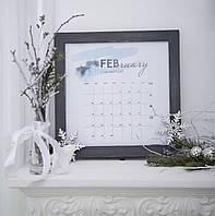Рамка деревянная для фотографий, рамка под календарь