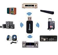 Bluetooth AUX блютуз адаптер аудио 3.5мм авто
