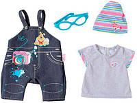 Набор одежды для куклы Baby Born, Джинсовое настроение (для мальчика), Zapf