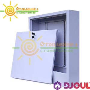 Шкаф коллекторный наружный Djoul на 5-7 выходов №2 (550х580х120)