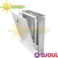 Шкаф коллекторный встраиваемыйDjoul на 10-12 выходов №4 (845х580х110)