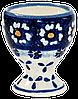 Подставка для яиц керамическая Chamomile Paradise blue