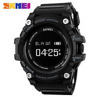 Фитнес-смарт (Bluetooth) часы с пульсометром от SKMEI 1188 Li-Po 160 mA * H (black) NEW 2018
