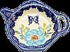 """""""Чайник"""" керамическая подставка под чайный пакетик Butterfly W"""