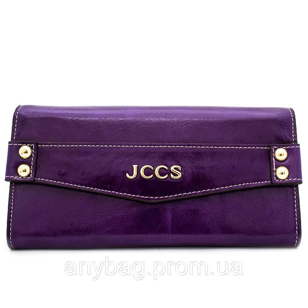 e9906e32bbe9 Кошелек Женский Кожаный JCCS W-JS06447 Фиолетовый — в Категории ...
