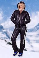 Женский спортивный зимний костюм на синтепоне