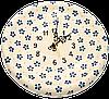Часы настенные круглые керамические 24 Rustic style