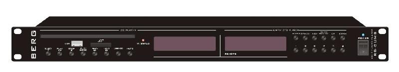 Джерело звука CD/MP3, AM/FM, USB/SD, BERG, RS-CUMS